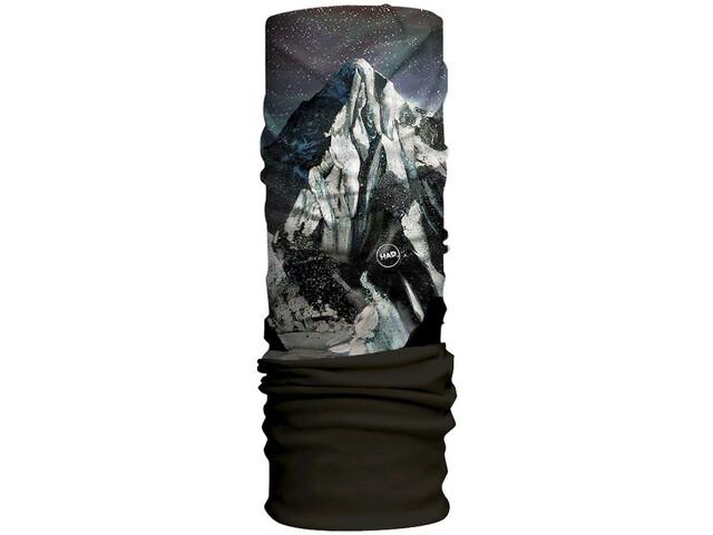 HAD Original Fleece Loop Sjaal, zwart/wit